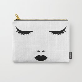 Dreaming Woman Sleeping Carry-All Pouch
