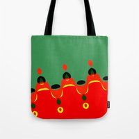 xmas Tote Bags featuring xmas by Milenix Loerdi