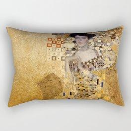 Portrait of AdeleBloch Bauer by Gustav Klimt Rectangular Pillow