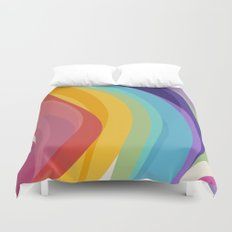 Fig. 045 Colorful Swirls Duvet Cover