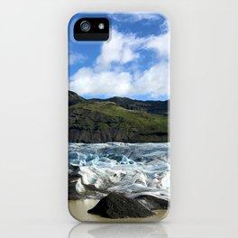 Glacial Blue iPhone Case