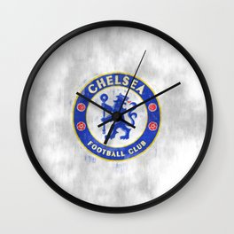 FC Chelsea sketch Wall Clock