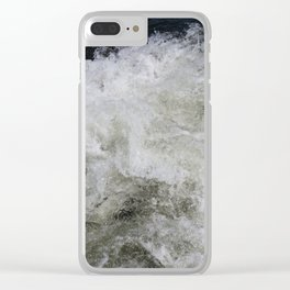 Rushing Water Clear iPhone Case