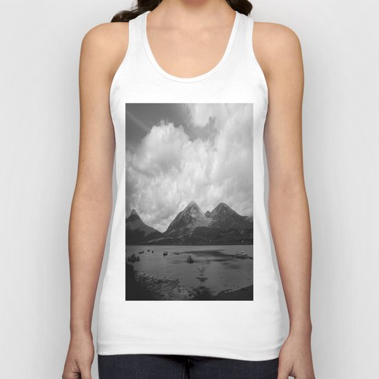 Colorless Paradise Unisex Tank Top