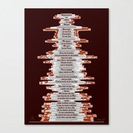 Totem 1 / Origen Canvas Print