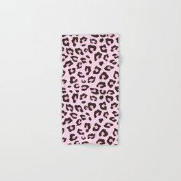 Leopard Print - Pink Chocolate Hand & Bath Towel