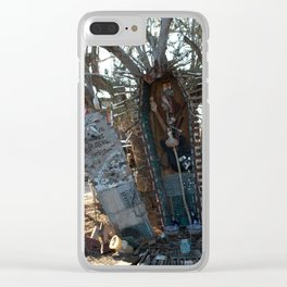 Mr Russell if you please Clear iPhone Case