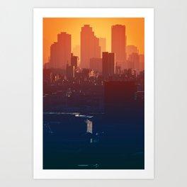 Eastern Seoul Art Print