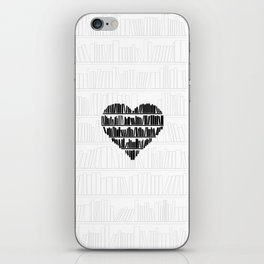 Book Lover II iPhone Skin