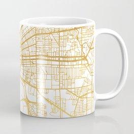 CLEVELAND OHIO CITY STREET MAP ART Coffee Mug