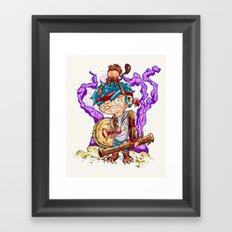 Jungle pirate. Framed Art Print