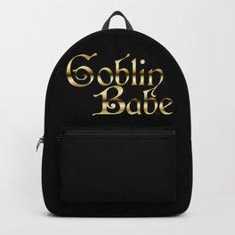 Labyrinth Goblin Babe (black bg) Backpack