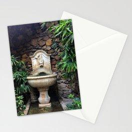 Secret Garden Fountain Malaga Alcazaba Stationery Cards