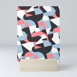 sliced shape Mini Art Print