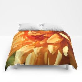 Vermont Autumn Golden Flower Comforters