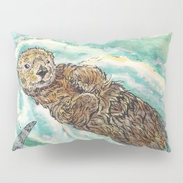 Two Otters Pillow Sham