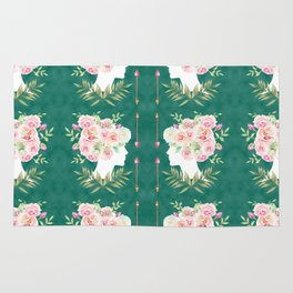 Abstract Roses Fairy Rug
