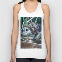 ford Tank Tops featuring Ford V8 by Shalisa Photography