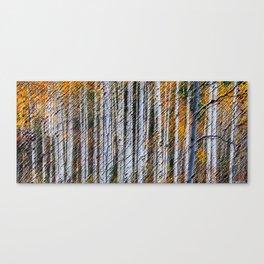 Yellow Aspen Trees - Colorado Landscape Painting by Jéanpaul Ferro Canvas Print