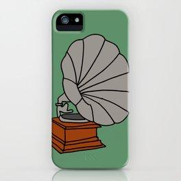 Grammophone iPhone Case
