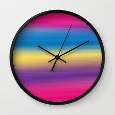 Color Winds Wall Clock