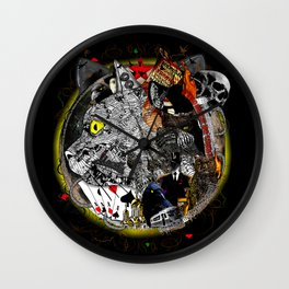 Master and Margarita Wall Clock