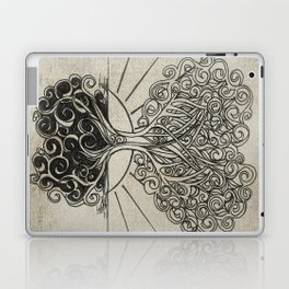 Grounded Heart in Bloom & Branches #1 Laptop & iPad Skin
