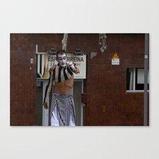 Streets of Catalunya Canvas Print