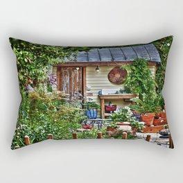 New Bern Garden Shed Rectangular Pillow