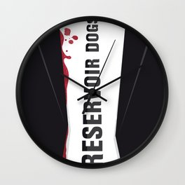 Reservoir Dogs Tribute Poster Wall Clock