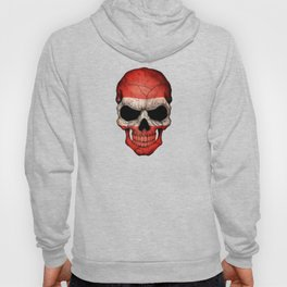 Dark Skull with Flag of Austria Hoody