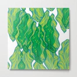 Chlorophyll Metal Print