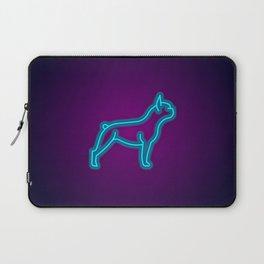 NEON FRENCH BULLDOG DOG Laptop Sleeve