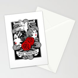 Rose Garden Stationery Cards