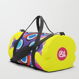 CRAZY COLORFUL Duffle Bag