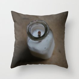 Milked Throw Pillow
