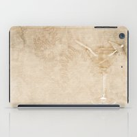 cocktail iPad Cases featuring Cocktail hour by Wendy Townrow
