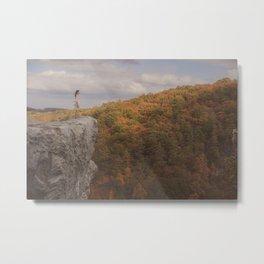 October Metal Print
