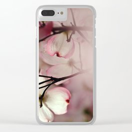 Under the Dogwood Tree Clear iPhone Case