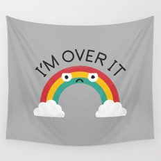 Above Bored Wall Tapestry