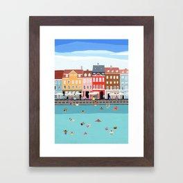 Waterfront Framed Art Print