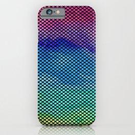 Rainbow Mermaid Tail iPhone Case