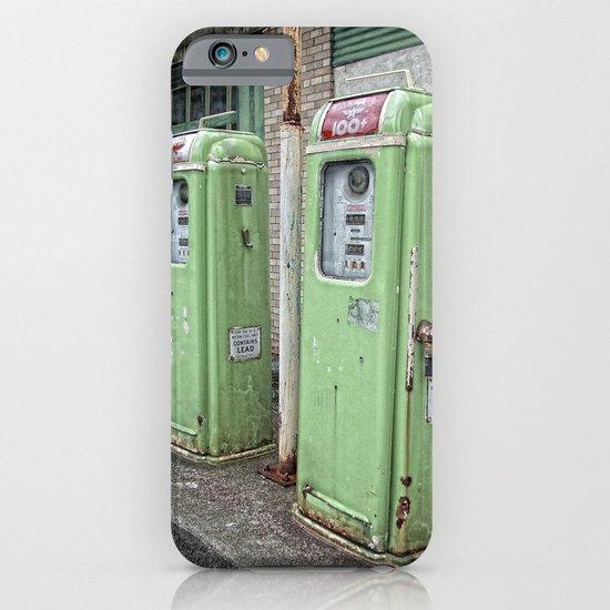 Vintage Gas Pumps iPhone & iPod Case