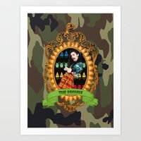 charli xcx Art Prints featuring TRUE ROMANCE - CHARLI XCX by A Fuckin' Teenage Tragedy