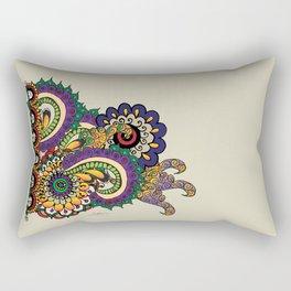 Hello 70s! Corally Rectangular Pillow