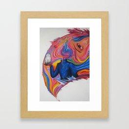 A Lover's Desire Framed Art Print