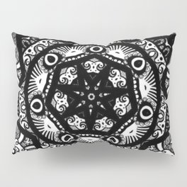 Monochromatic Bloom  Pillow Sham
