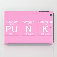 periodic table iPad Cases featuring Periodic Punk by aesthetically