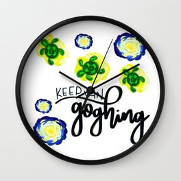 Keep Van Goghing Wall Clock