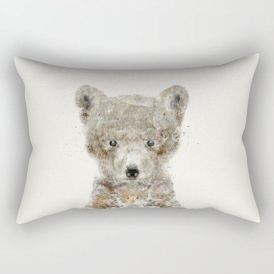 little wolf Rectangular Pillow
